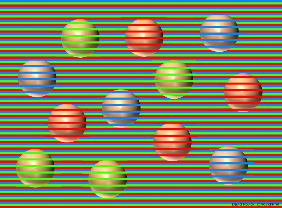 All the balls are the same colour